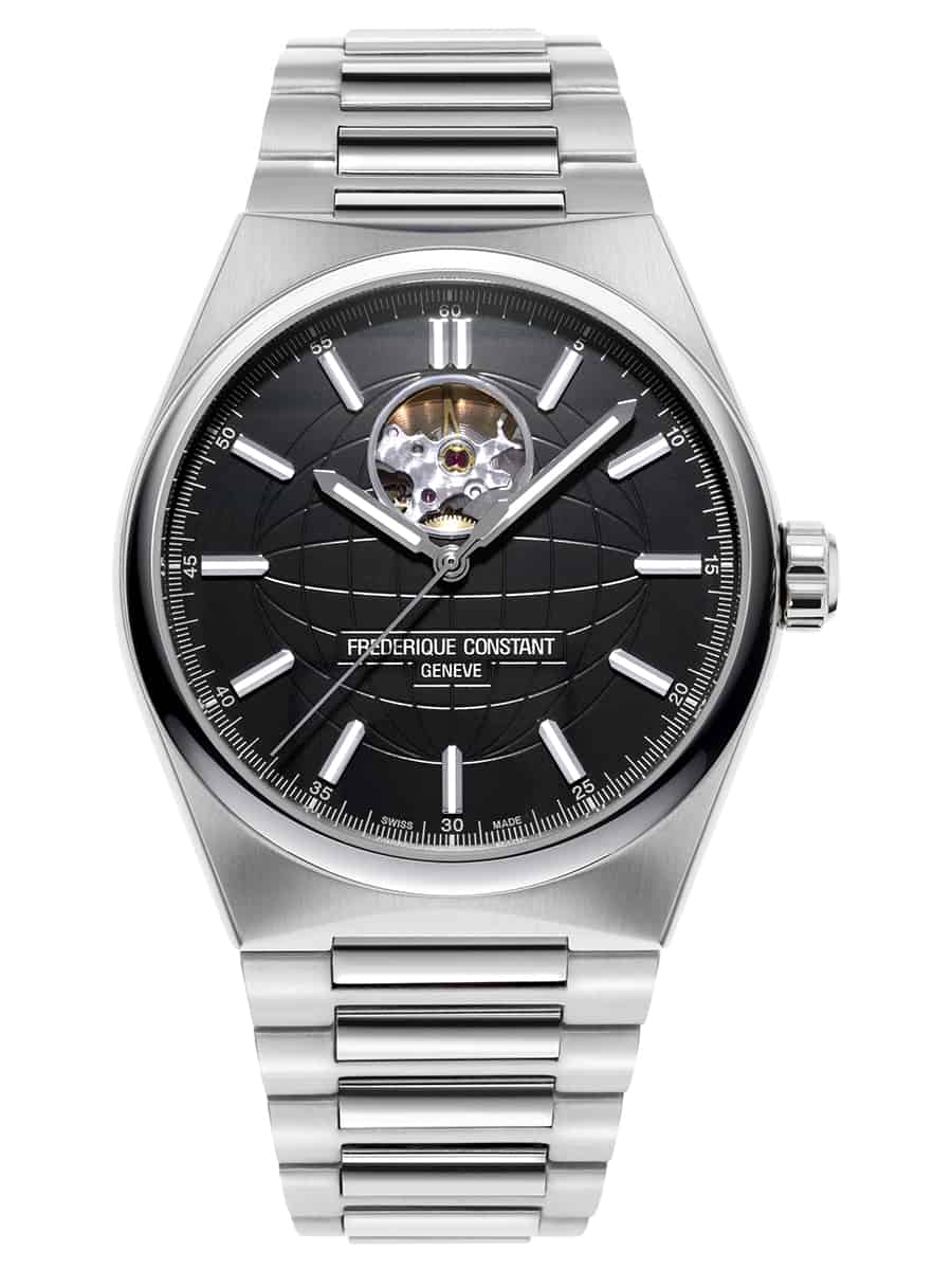 Frederique Constant Highlife Heart Beat in Stahl