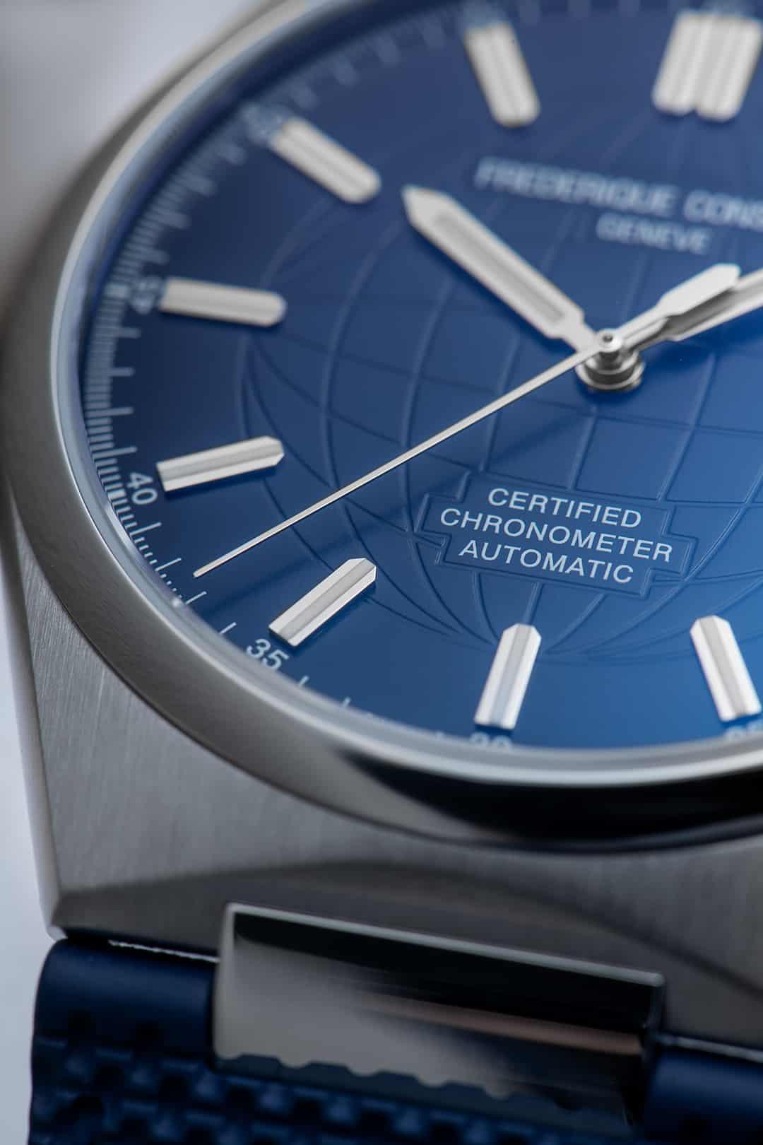 COSC zertifizierte Chronometer von Frederique Constant