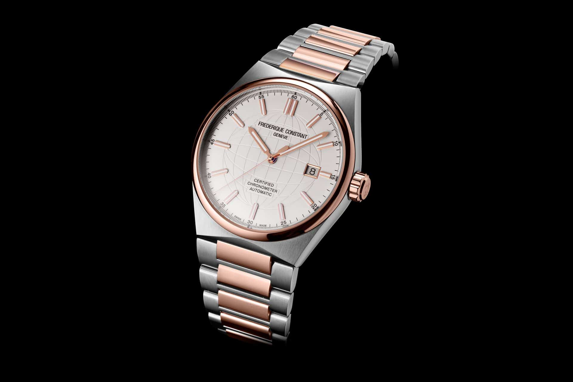 Einstiegsmodell Frederique Constant High Life Automatic Stahl mit Gold