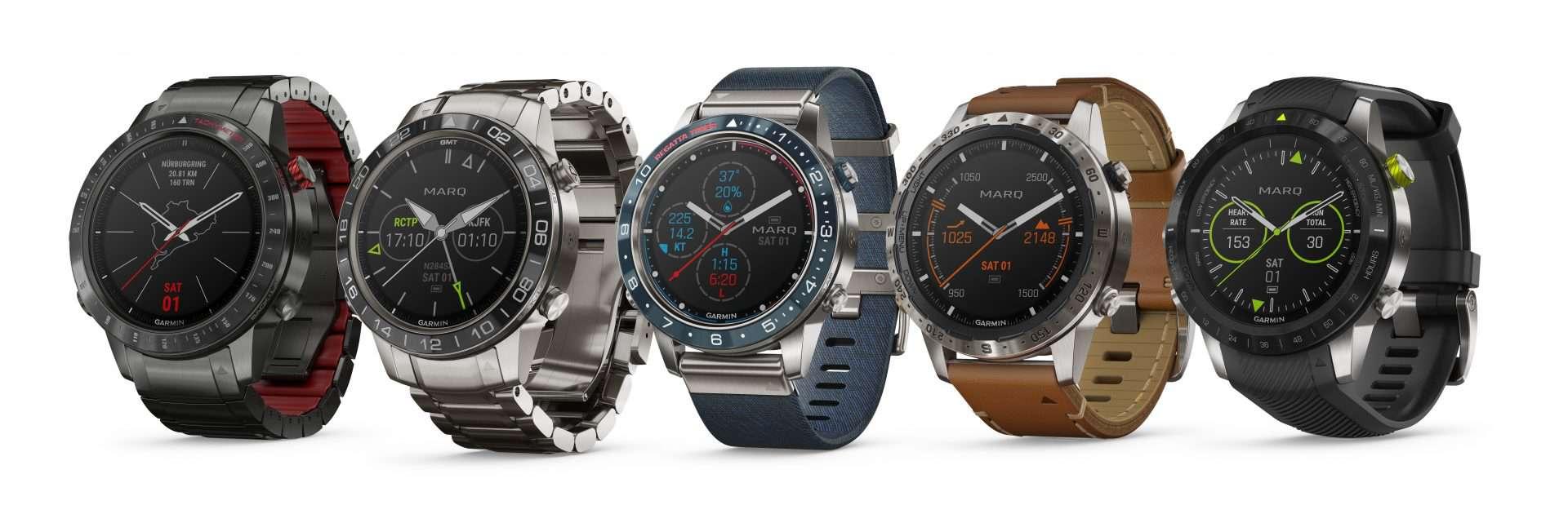 Garmin Marq Smartwatch Familie