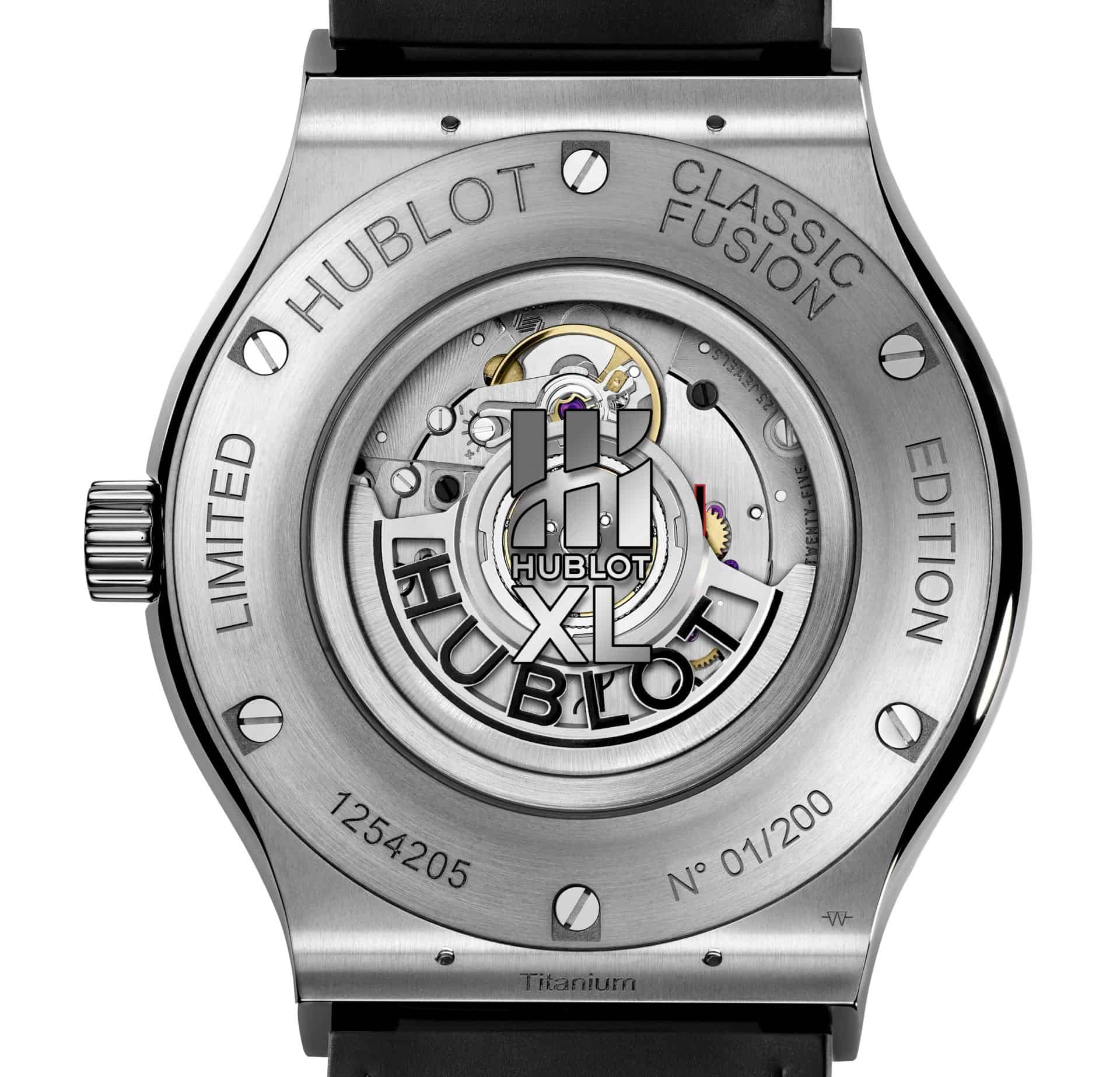 Hublot Classic Fusion 40th Anniversary Kaliber HUB1112 mit Glasboden