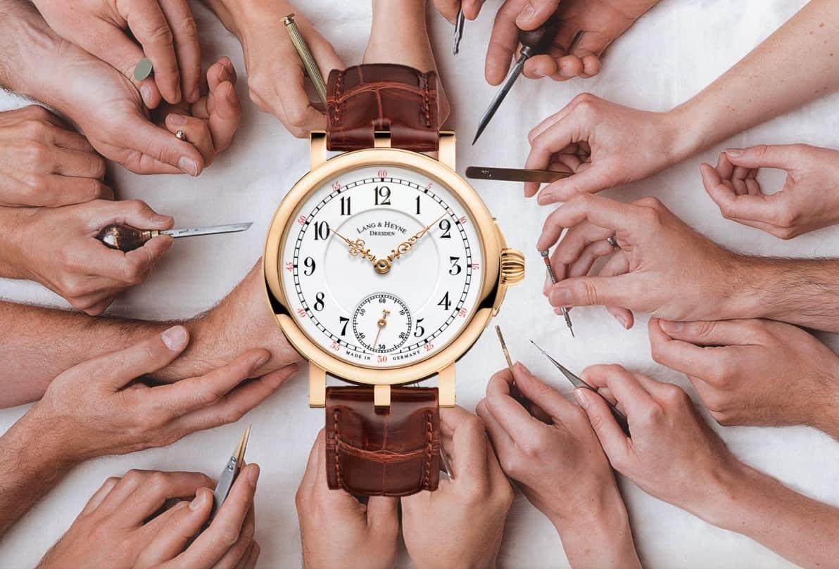Lang & Heyne Armbanduhren: Seltene Handwerkskunst der Extraklasse!