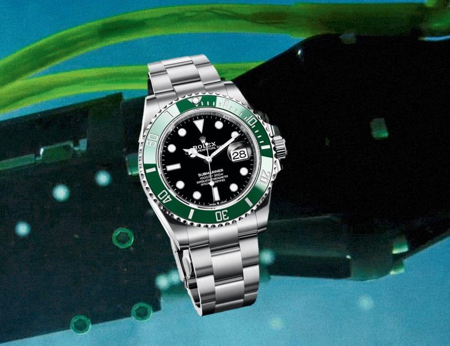 Rolex Submariner Ref 126610LV grüne Lünette