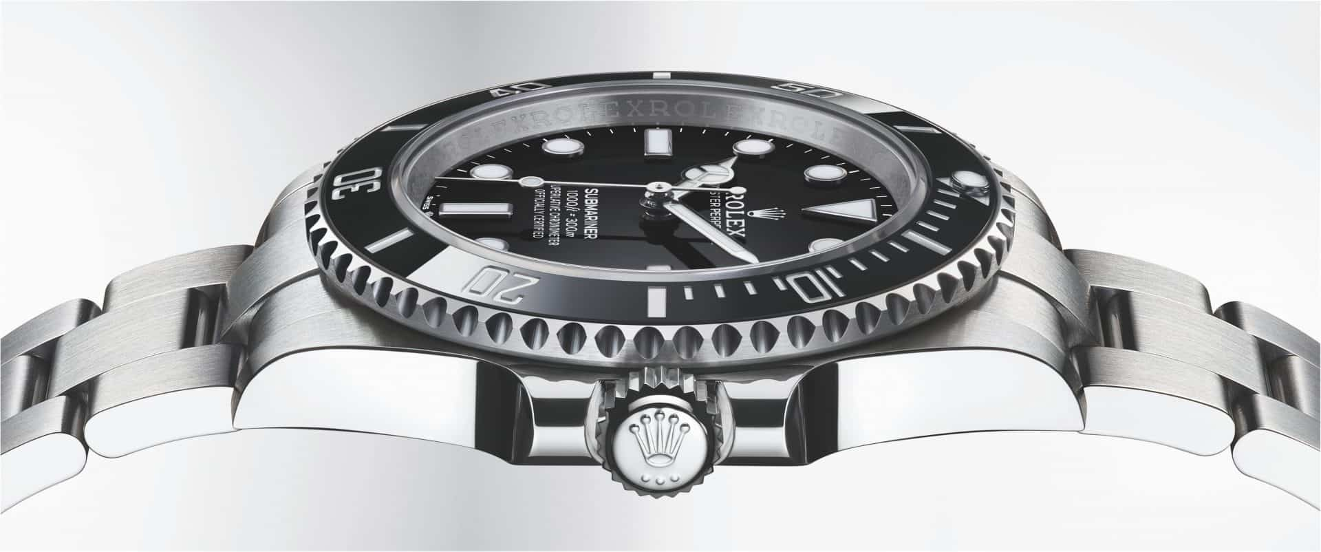 Rolex Oyster Perpetual Submariner Referenz 124060 0001 2001ac Profil