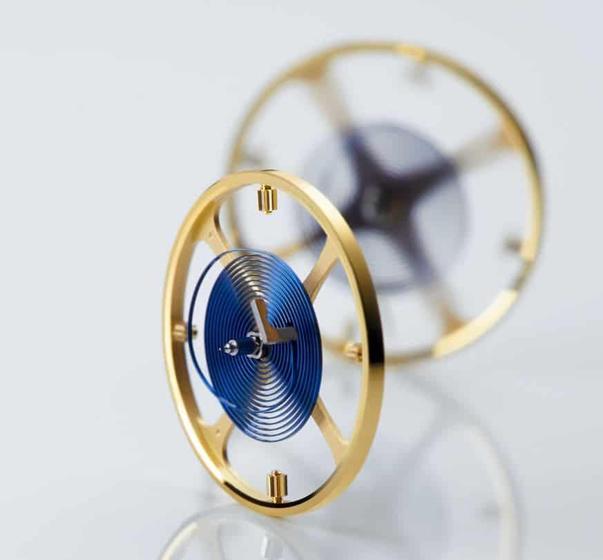 Rolex Parachrome Unruh für hohe Präzision