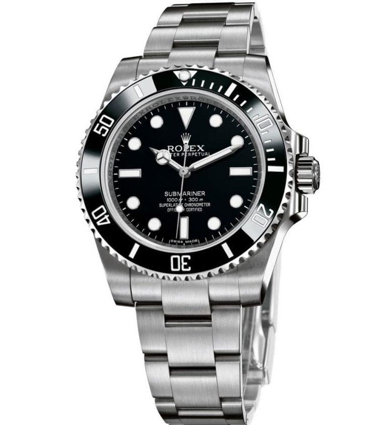 Rolex Submariner 114060 Schwarz Cerachrom-Lünette