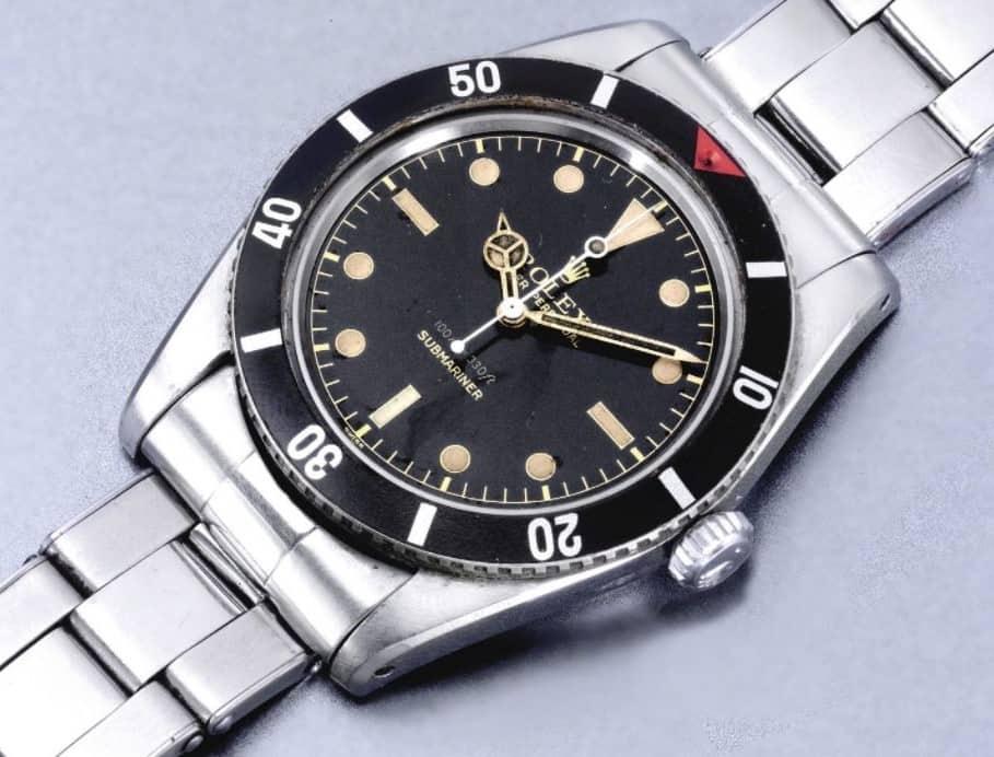 Rolex Submariner 6536/1 Small Crown Bild Sotheby's
