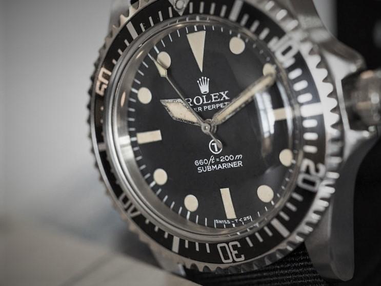 Rolex Submariner Navy 6538 Milsub