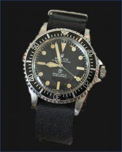 Rolex Submariner 6538 Royal Navy Milsub