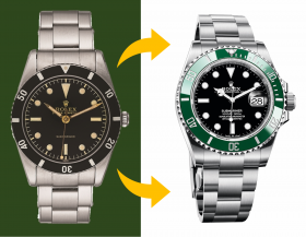 Die Evolution: Alle Rolex Submariner Modelle von 1953 bis heute
