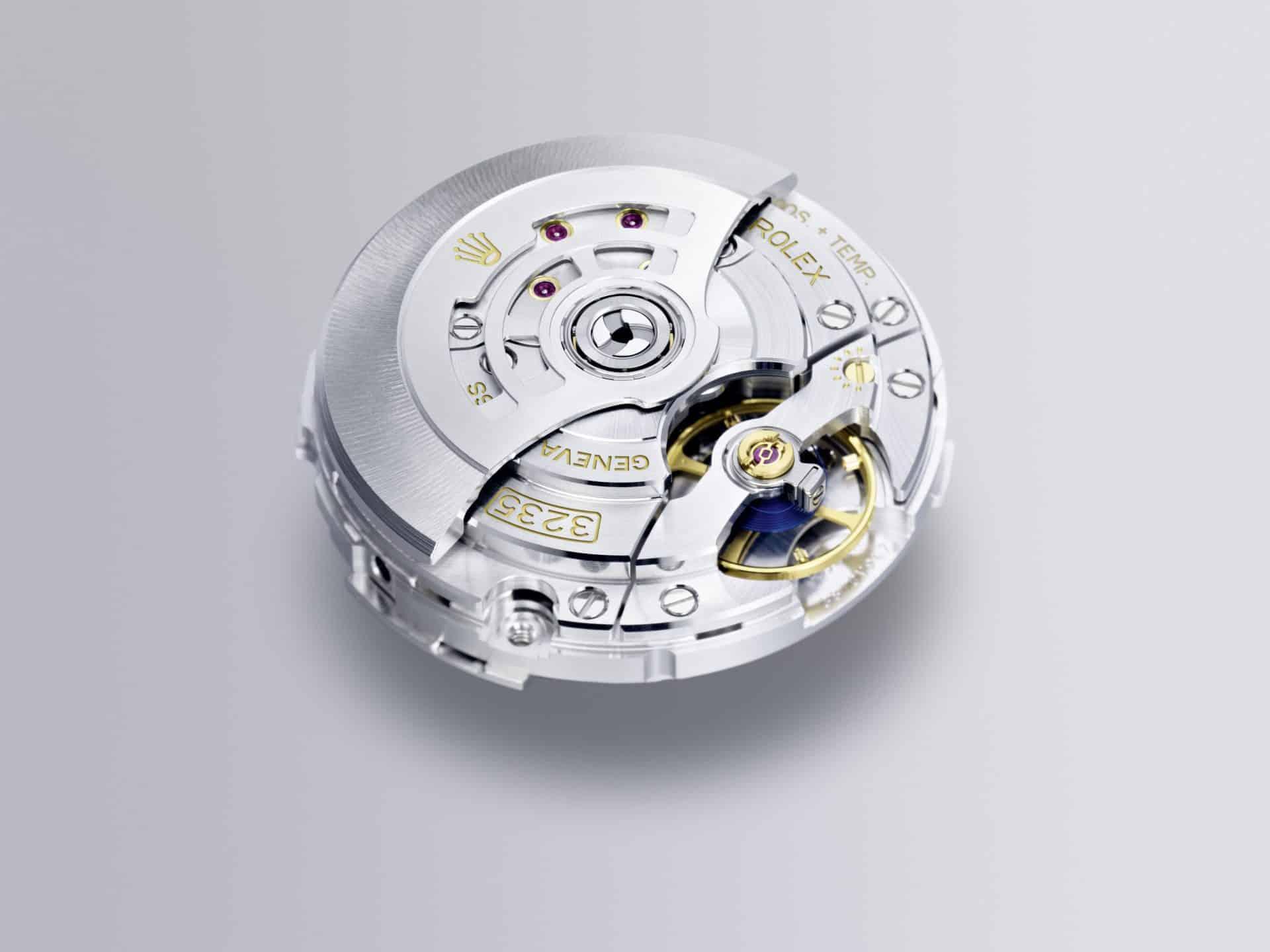 Rolex Kaliber 3235 Rückseite