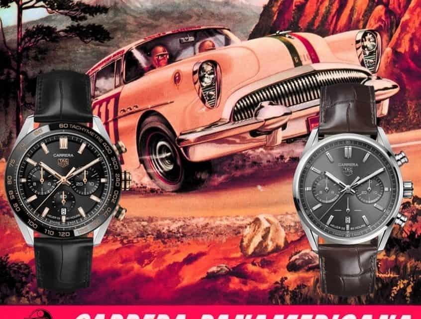 TAG Heuer Carrera Sport Chronograph 44 mm und TAG Heuer Carrera Chronograph 42 mm – die Faszination Carrera lebt!