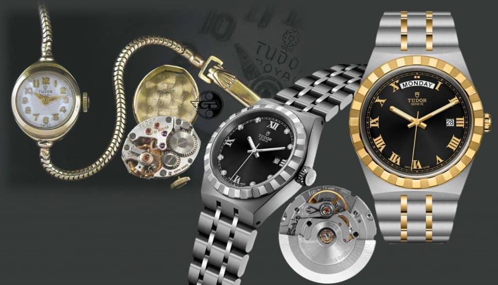 Die Tudor Royal für Damen von1961 und die Tudor Royal Day-Date Automatic von 2020