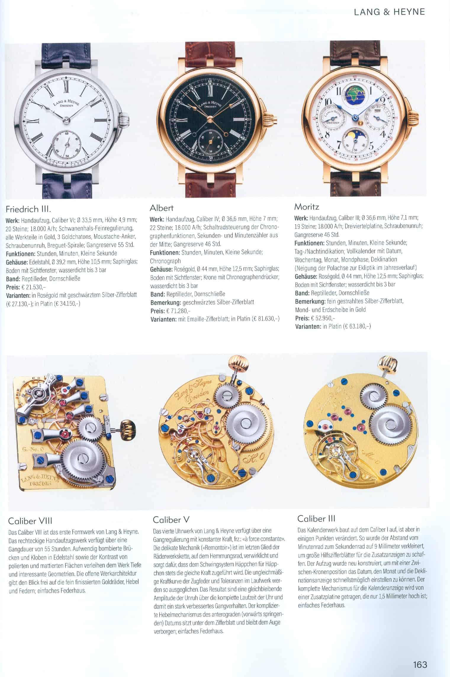 Armbanduhren Katalog Heel Verlag 2020 2021 Lang Heyne