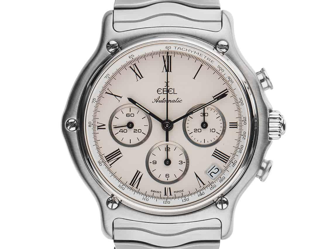 Max Büssers erste Uhr: Ebel Sport Classic Chronograph mit Automatikkaliber Zenith El Primero, genannt Beau