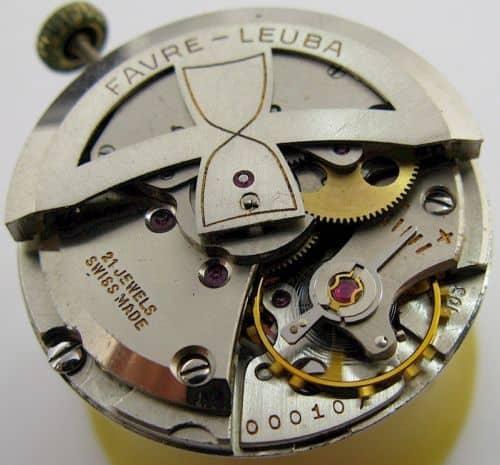 Automatikkaliber FL103 von Favre-Leuba
