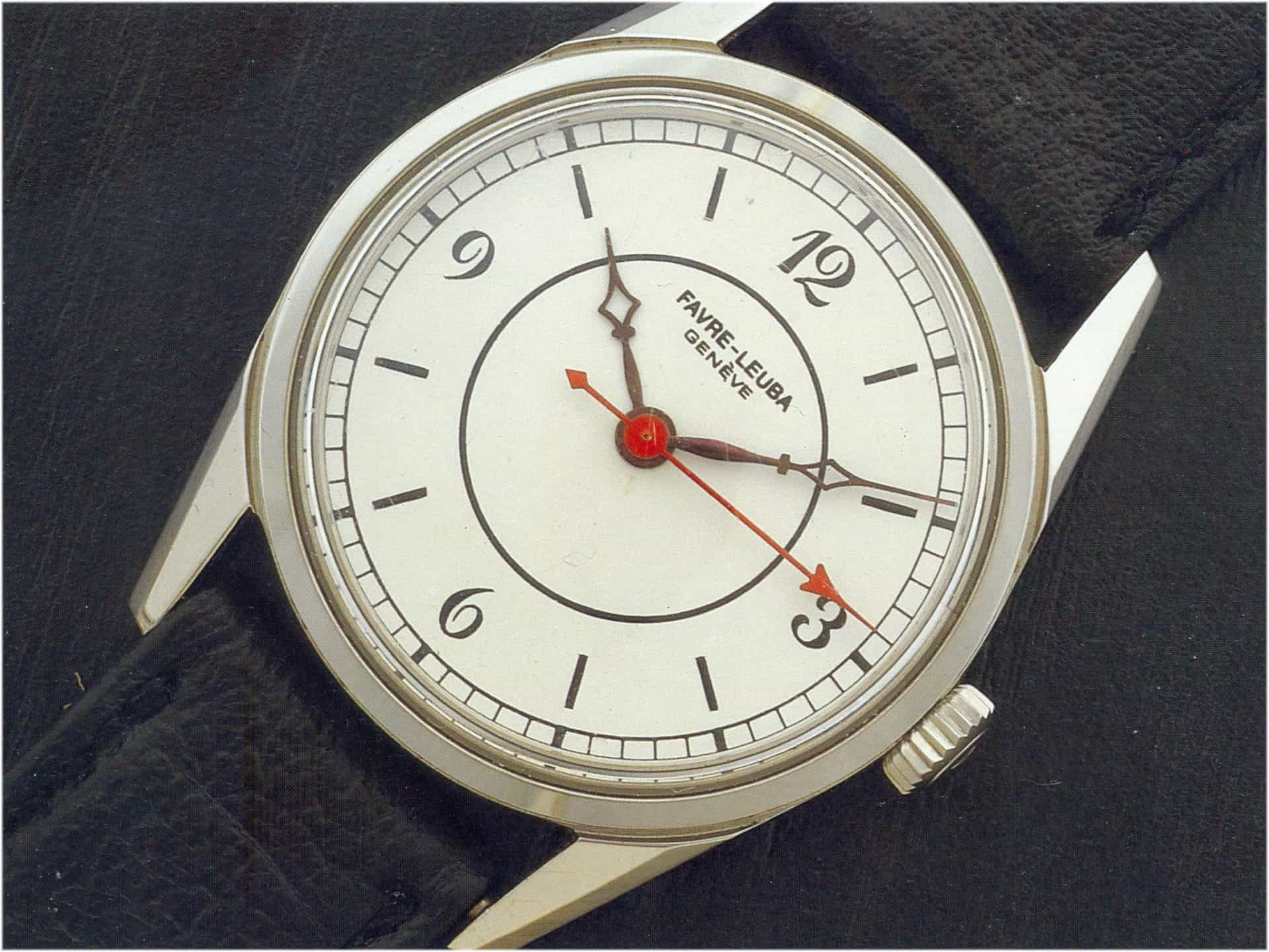 Handaufzug Kaliber 253 - 1962 Gesicht (C) Uhrenkosmos