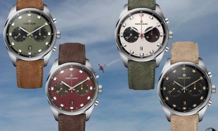 Der Favre-Leuba Sky Chief Chronograph hebt in 4 Versionen ab