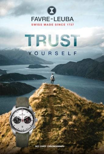 Turst Yourself Favre-Leuba Sky Chief Chronograph Motiv