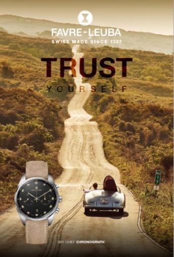 Favre-Leuba Marken Motto Trust Yourself