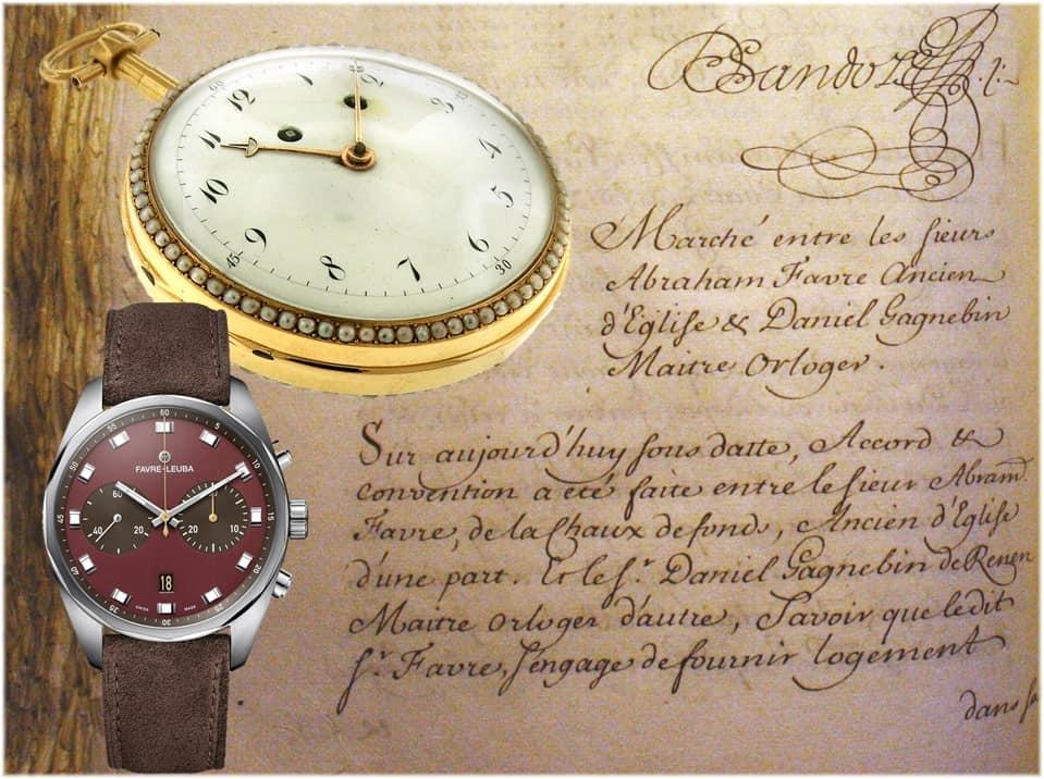Zweitälteste Schweizer Uhrenmarke Favre-Leuba Favre-Leuba Uhren und ihre 284-jährige Geschichte