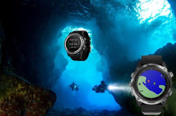 Der Garmin Descent Mk2 Tauchcomputer ist ein Alleskönner unter und über Wasser