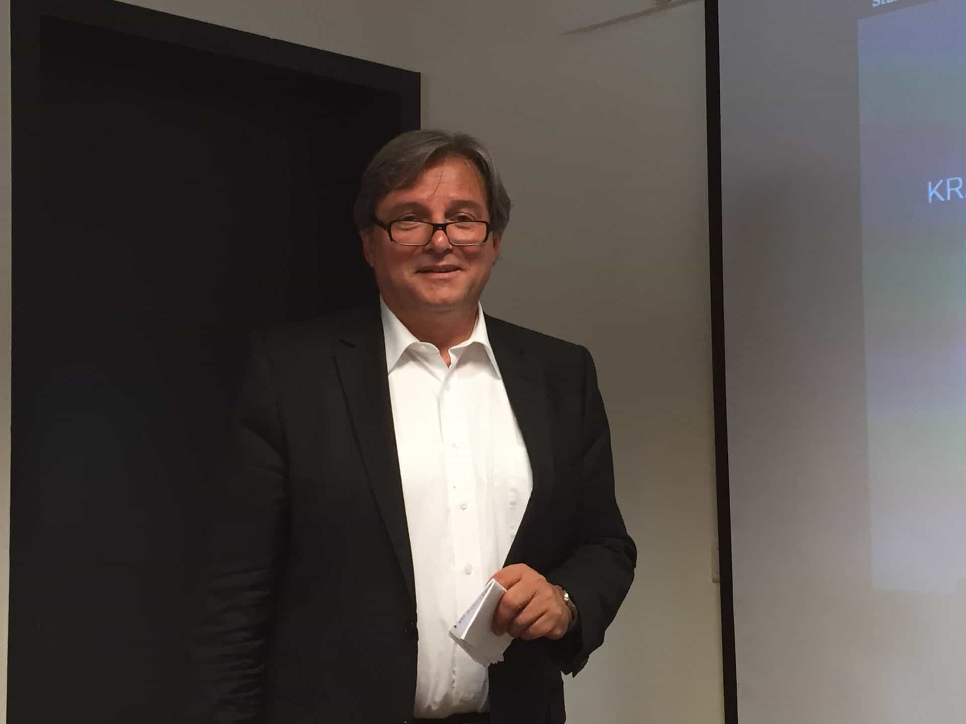 Der Gründer von MeisterSinger Manfred Brassler