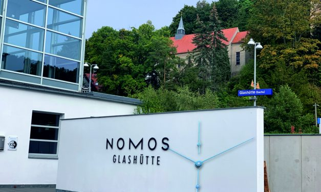 Nomos Lambda 175 Stahl – das ist puristisches Design für Kenner