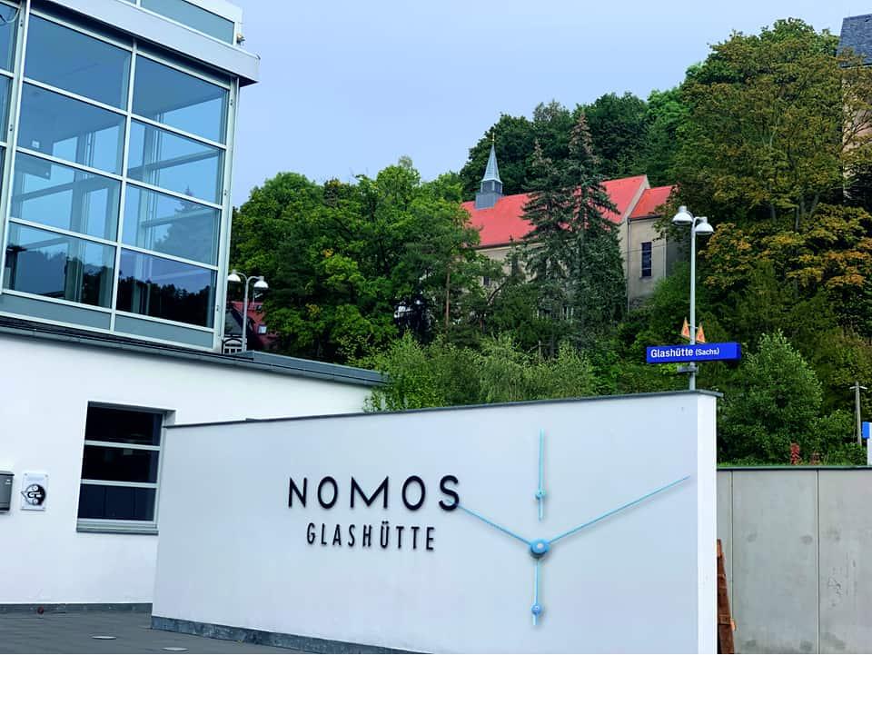Nomos Lambda Stahl Nomos Lambda 175 Stahl – das ist puristisches Design für Kenner