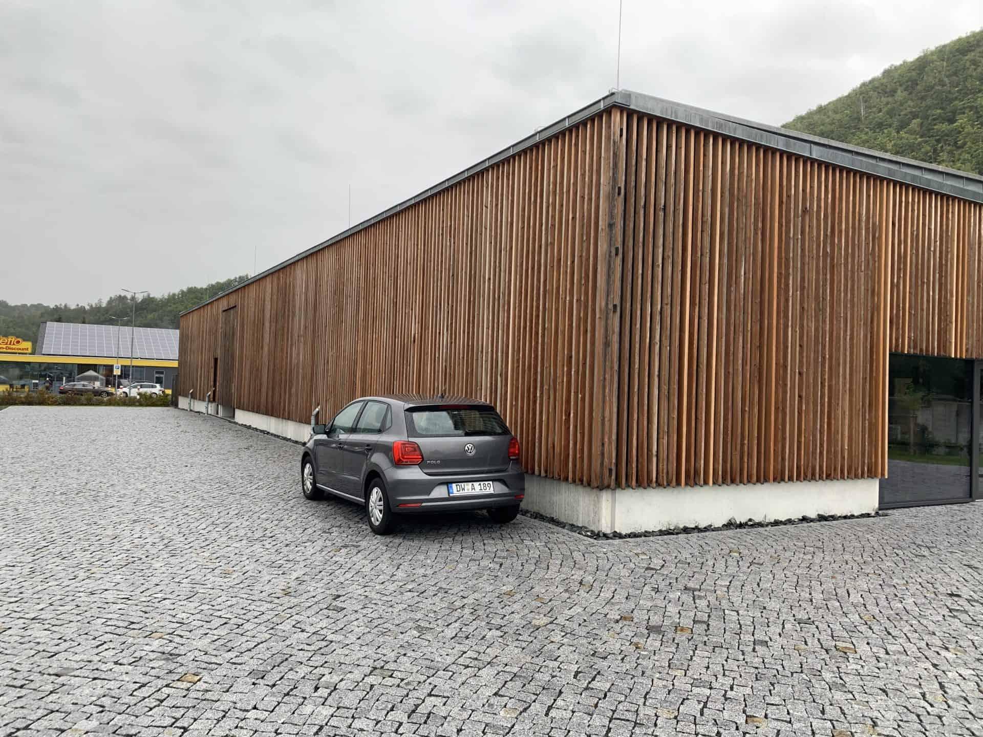 Nomos Manufakturgebäude in Schlottwitz