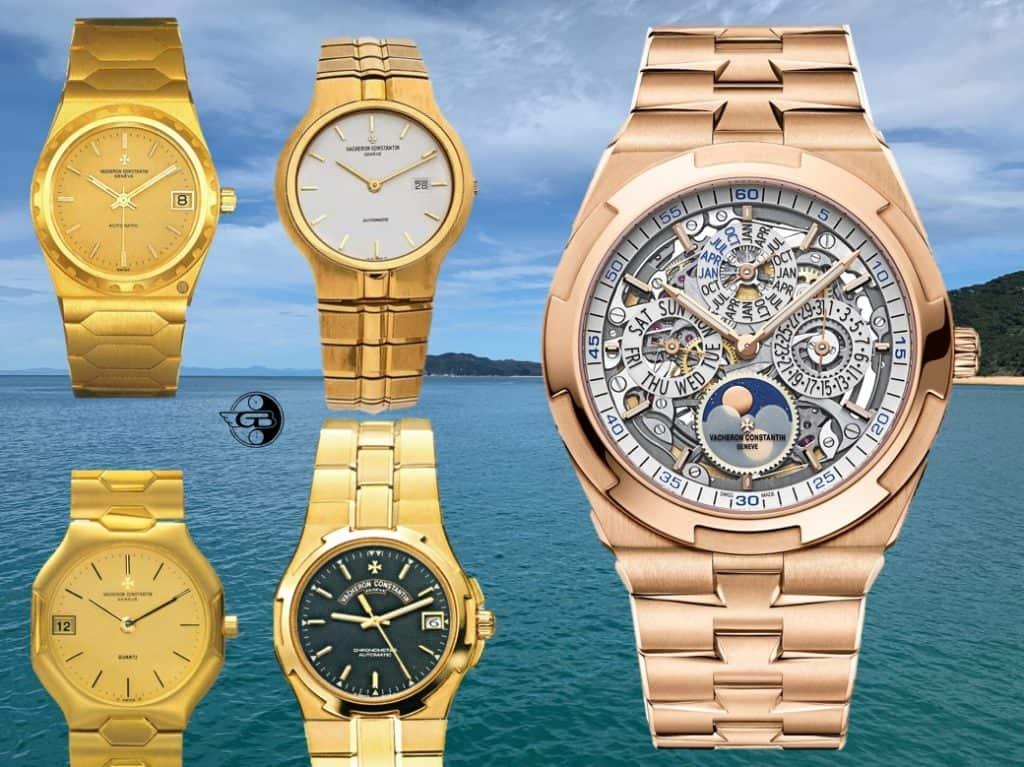 Vacheron Constantin Modelle 222 333 Phidias Overseas 1996 und Overseas Ewiger Kalender Skelett 2020 Uhrenkosmos