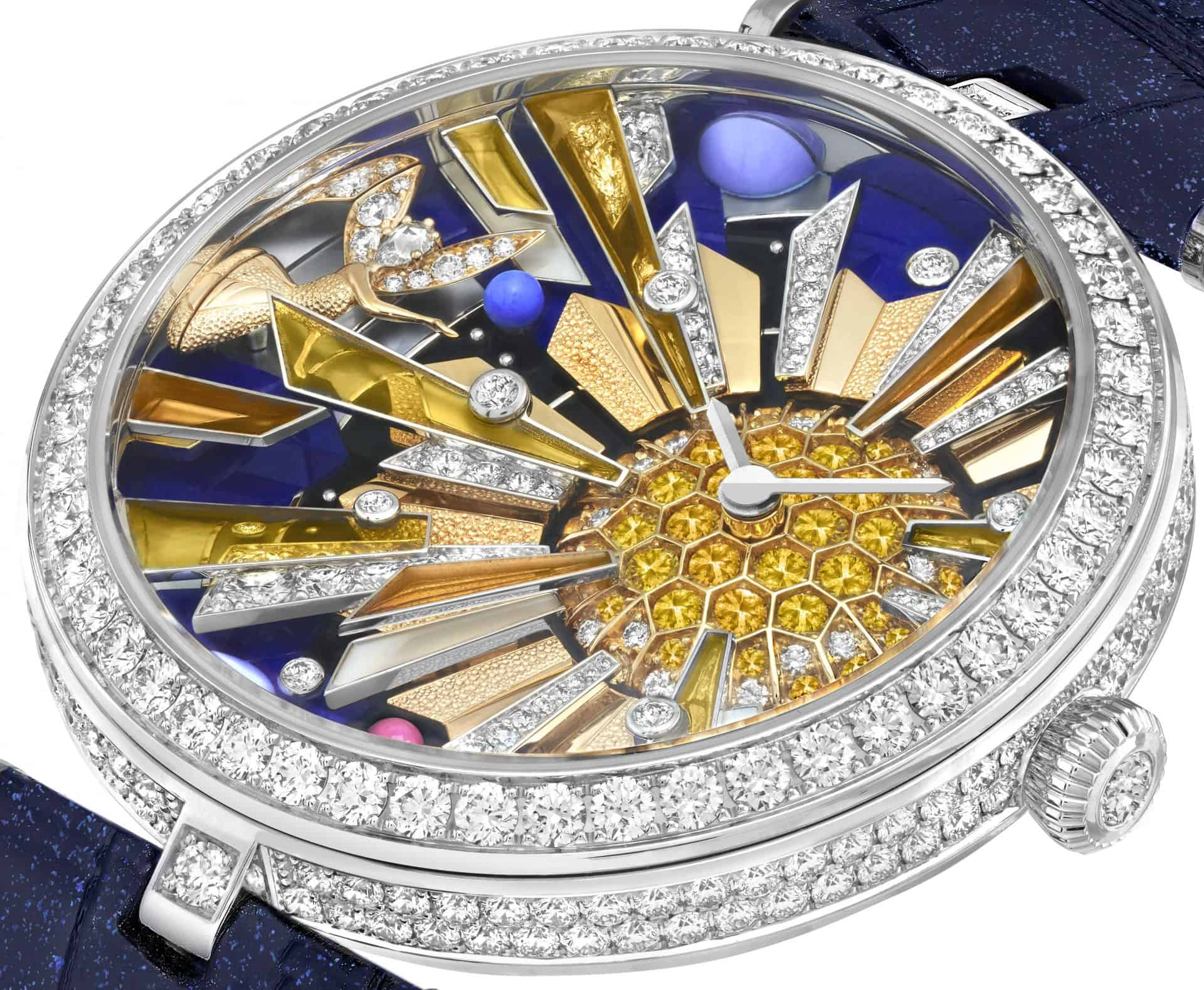 Van Cleef & Arpels Lady Arpels Frivole Secréte watch GPHG 2020