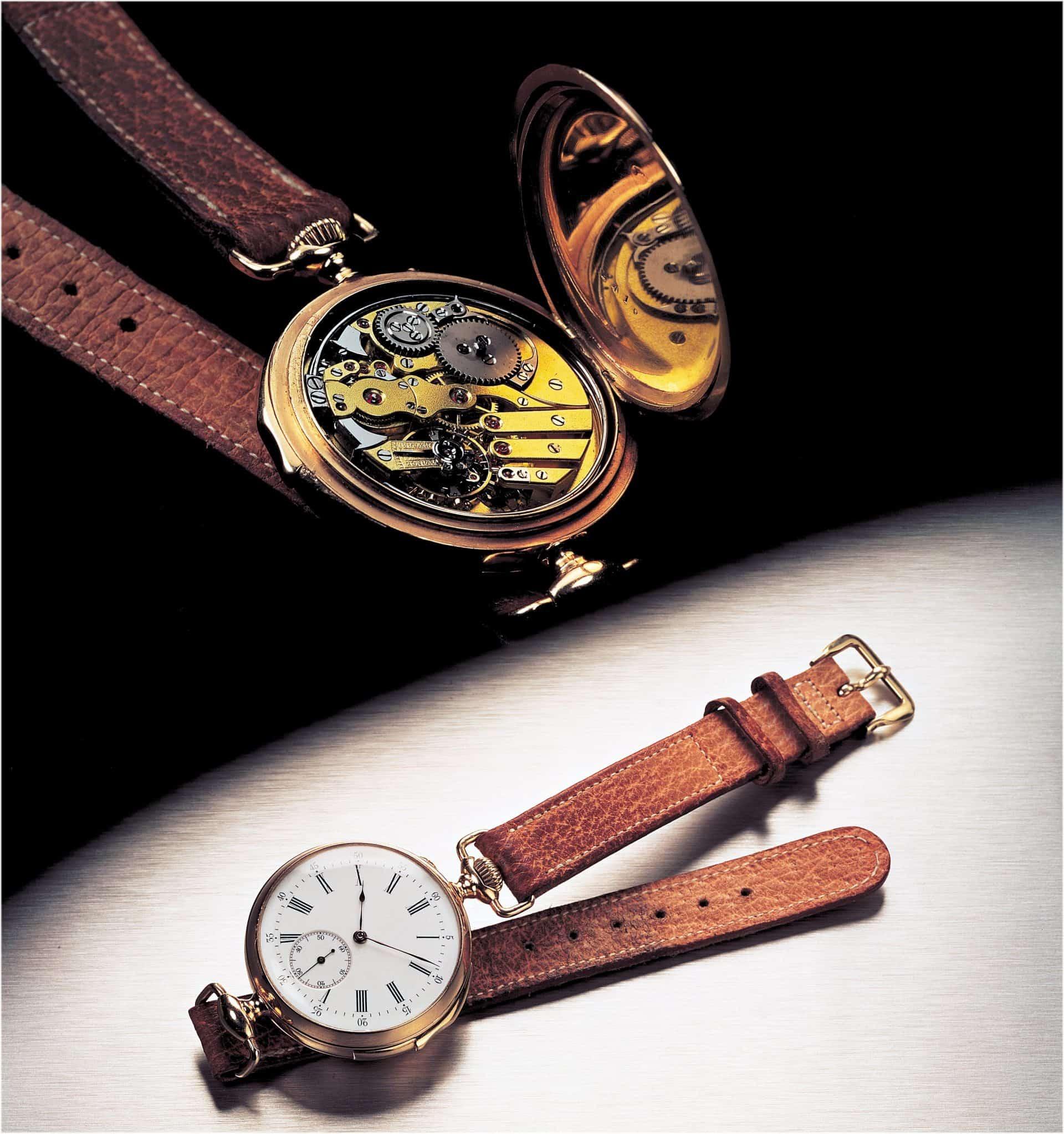Die erste Armbanduhr mit Minutenrepetition fertigte Audemars Piguet im Jahr 1892 für Louis Brandt, Gründer von Omega