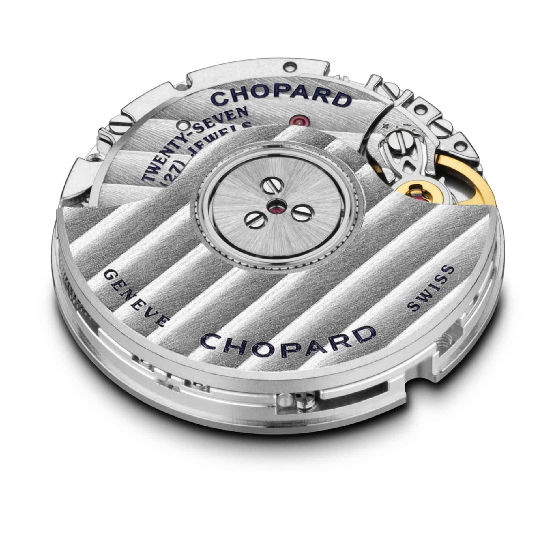 Das Manufakturuhrwerk 09.01-C produziert Chopard selbst