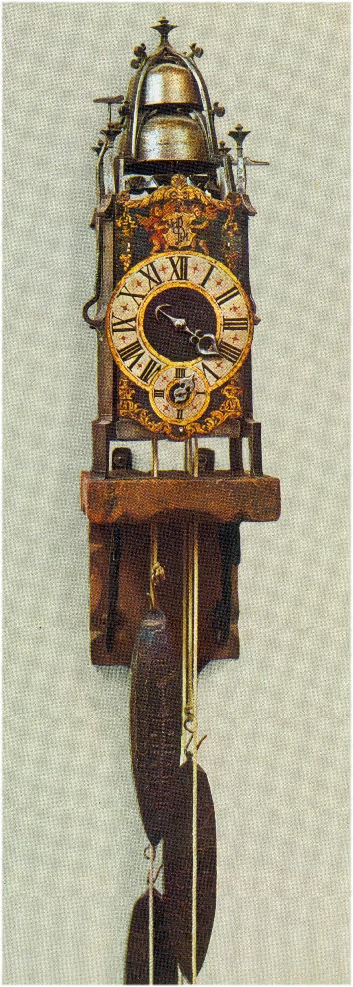 Eine Gewichtuhr aus dem 16. Jahrhundert