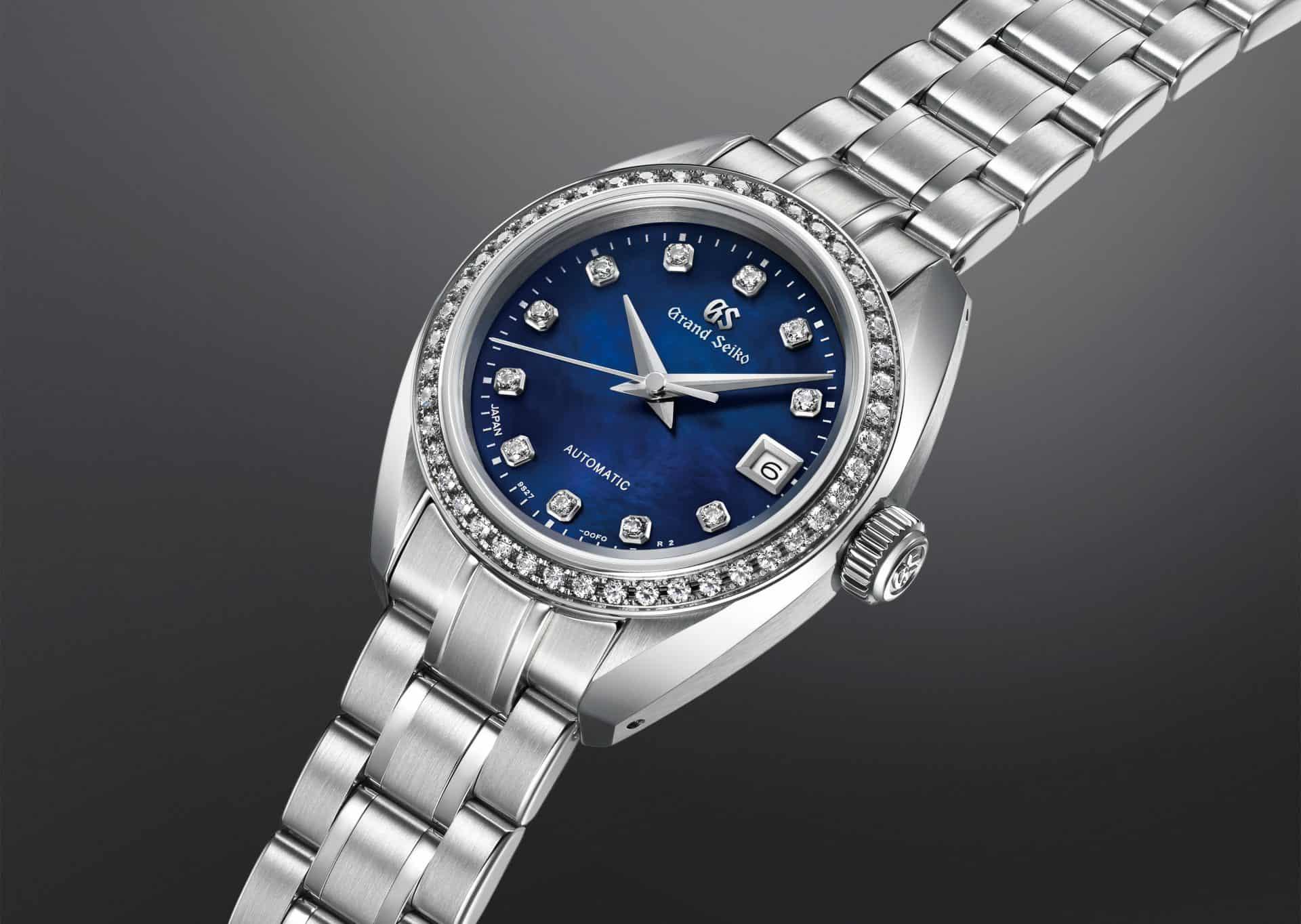 Feiner Uhrenbau findet bei der Grand Seiko Damen Automatik Referenz STGK015 statt