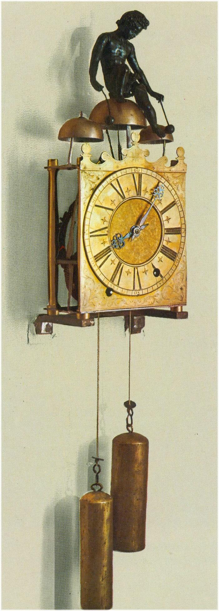 Uhr mit Schlagwerk 17. Jahrhundert