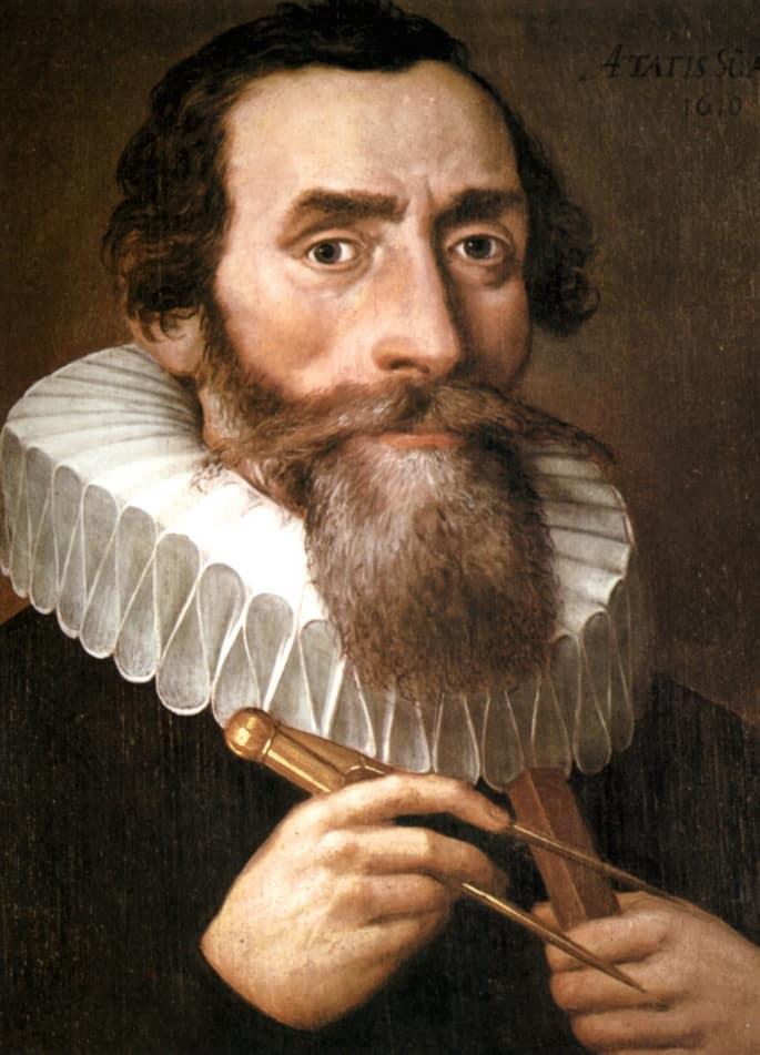 Der Astronom und Mathematiker Johannes Kepler