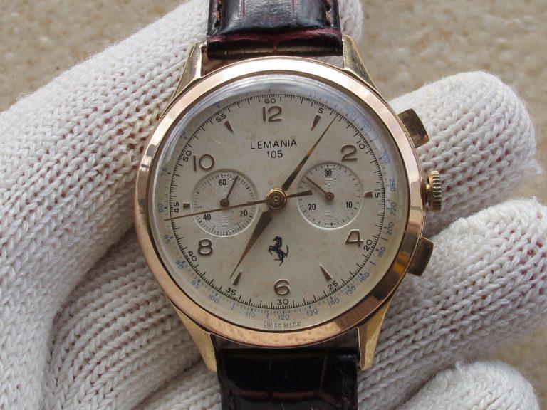 Lemania 105 Chronograph