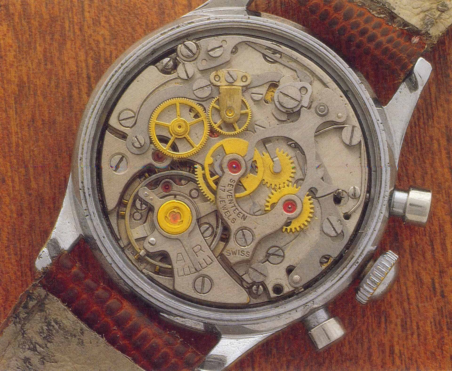 Das Kaliber des Lemania Chronographen 1270 Bild Expertswatches