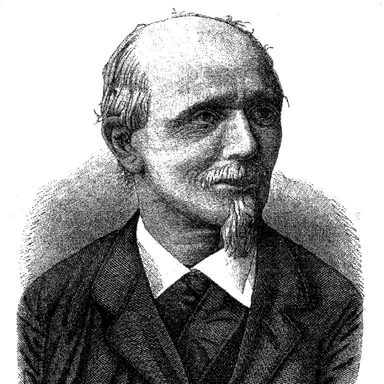 Moritz Grossmann der Gründer der Deutschen Uhrmacherschule in Glashütte