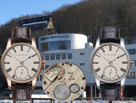2 mal 12 Uhren der Moritz Grossmann XII Birthday Edition für zwölf Jahre Moritz Grossmann Glashütte