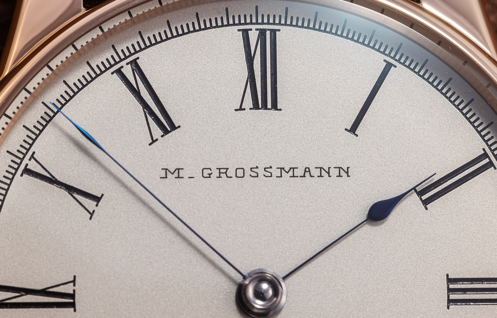 Zifferblatts der Moritz Grossmann XII Birthday-Edition