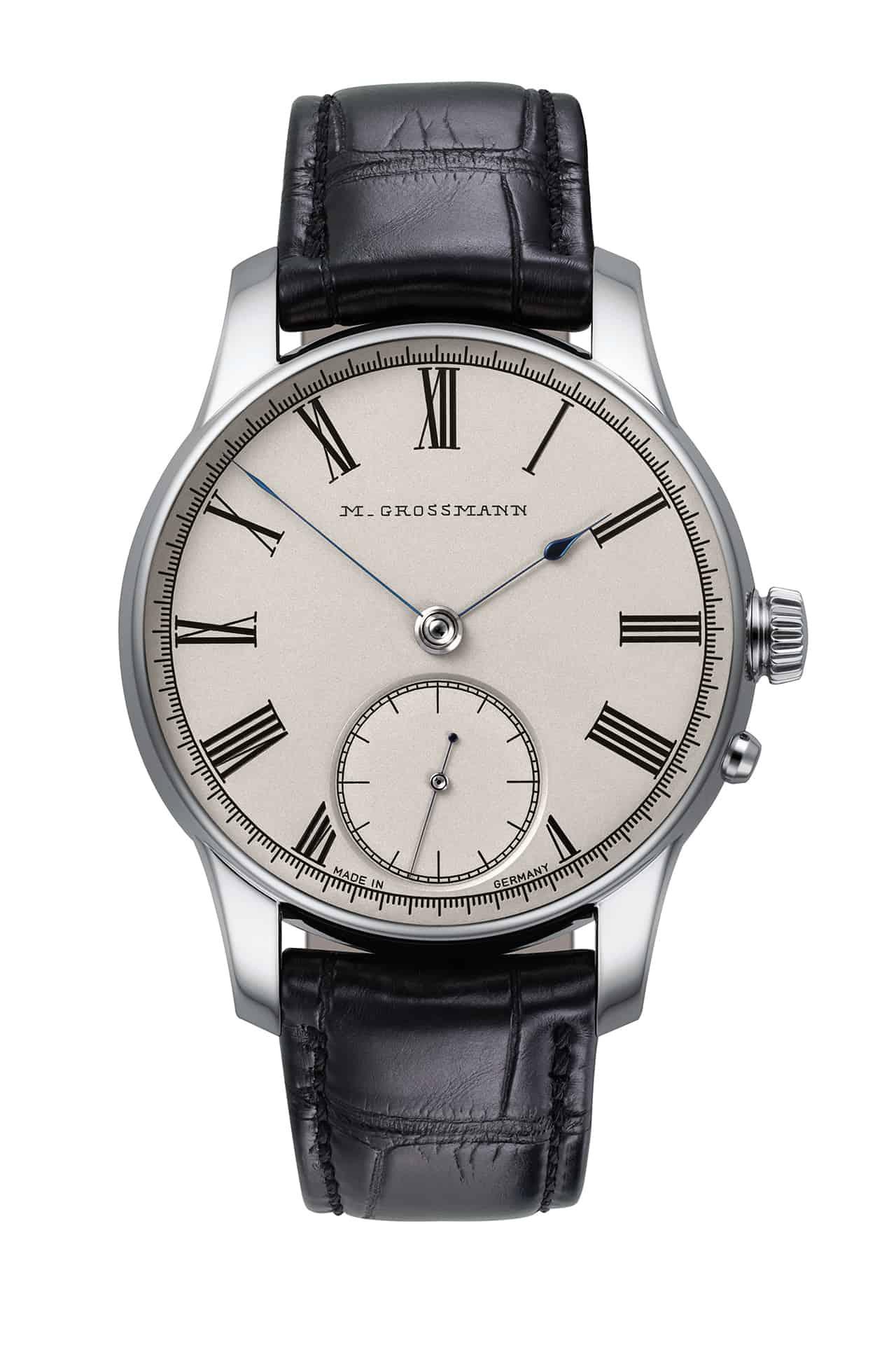 Für 22.100 Euro gibt es die stählerne Referenz MG-002907 der Grossmann Birthday Edition