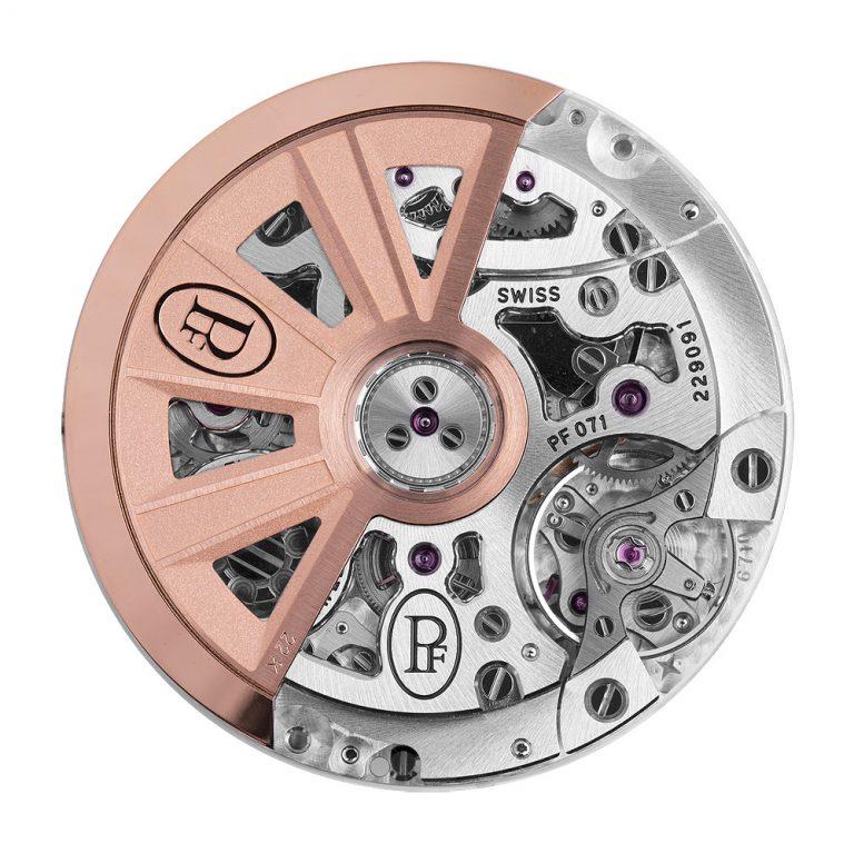 Parmigiani Tondagraph GT Chronograph Kaliber PF071 Rotorseite