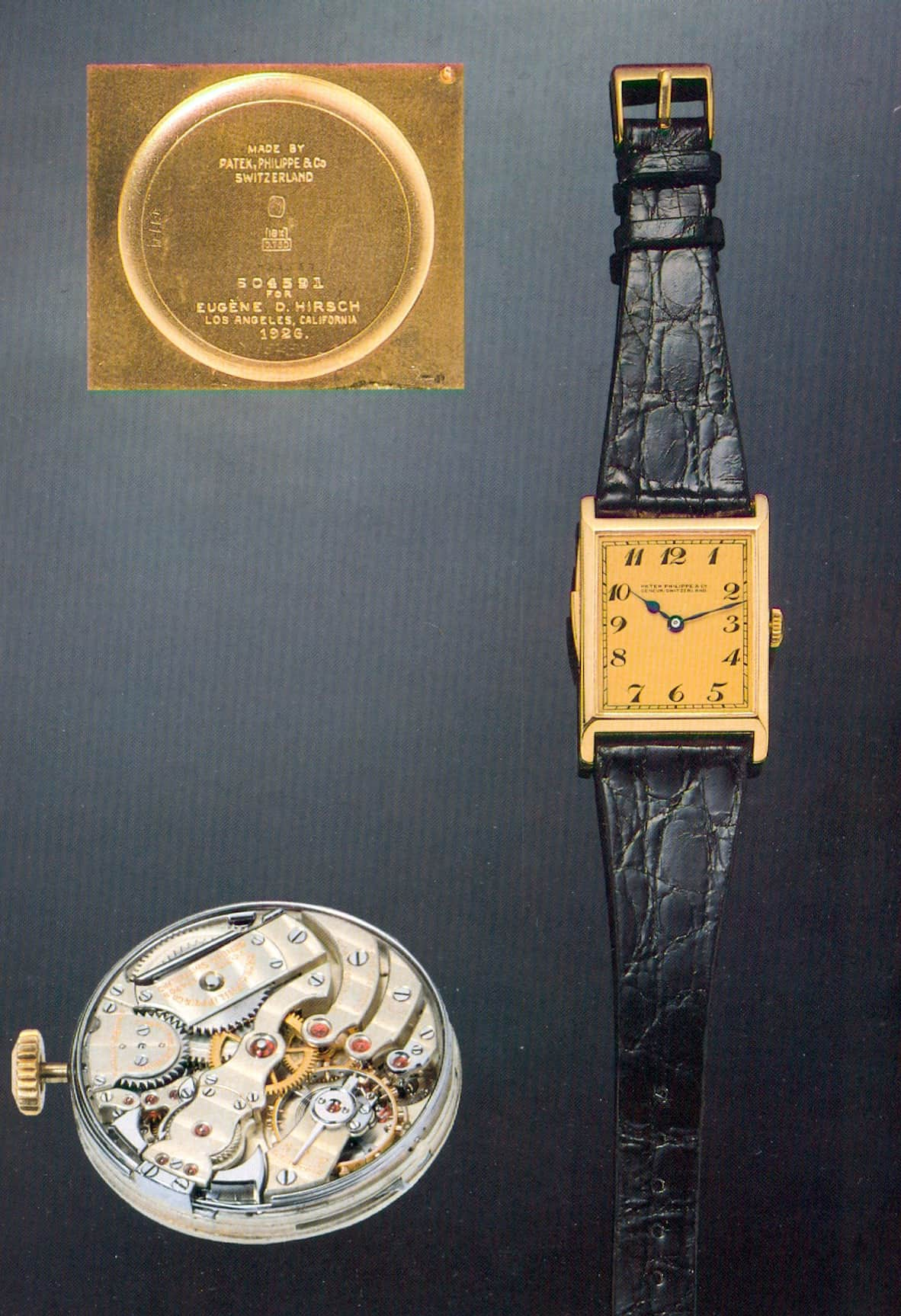 Patek Philippe Armbanduhr mit Minutenrepetition aus dem Jahr 1927