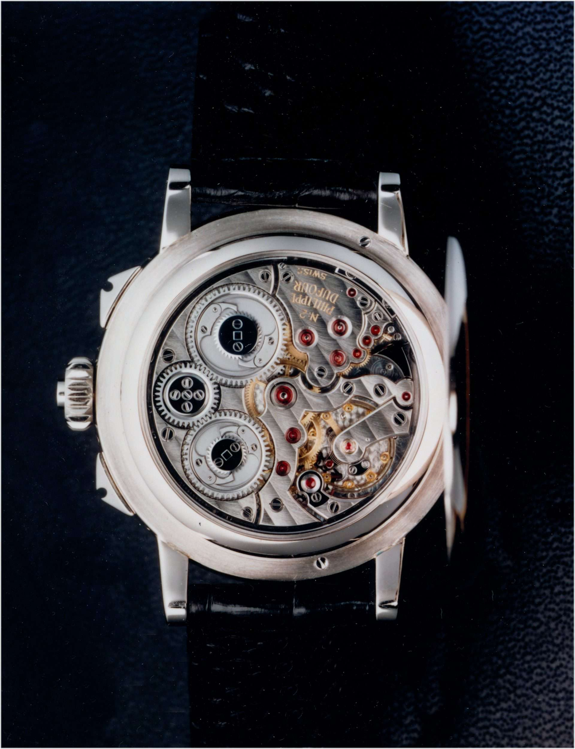 Philippe Dufour Armbanduhr mit Handaufzugswerk und Grande Sonnerie