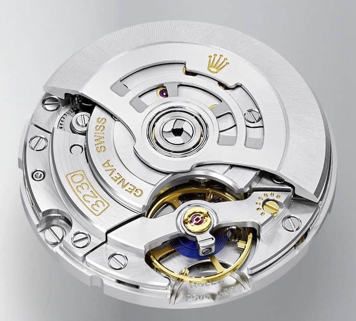 Eines der besten und zuverlässigsten Uhrwerke im Markt - das Rolex Manufakturkaliber 3230