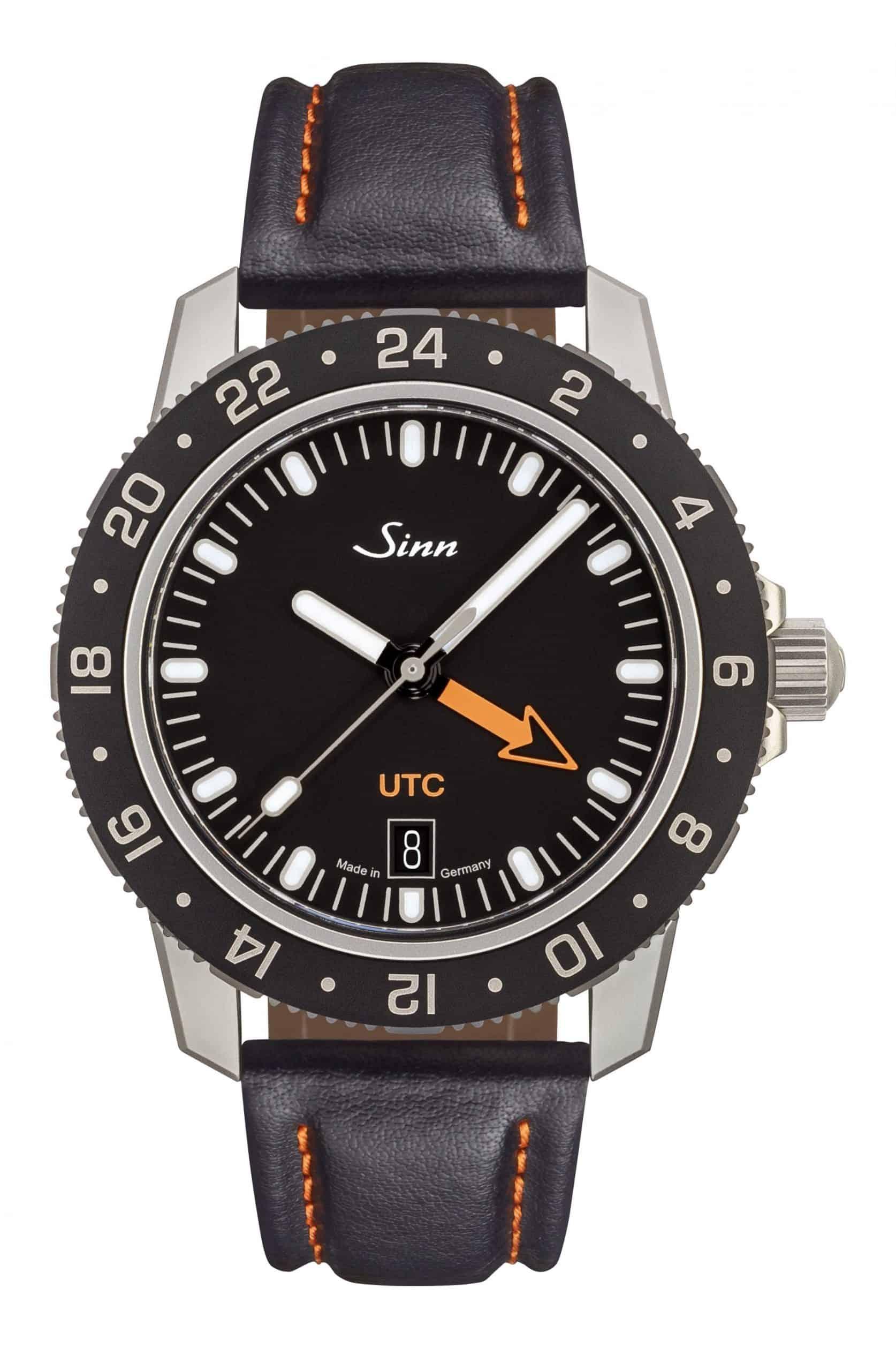 Die Sinn 105 St Sa UTC mit Lederband kostet 1.590 Euro