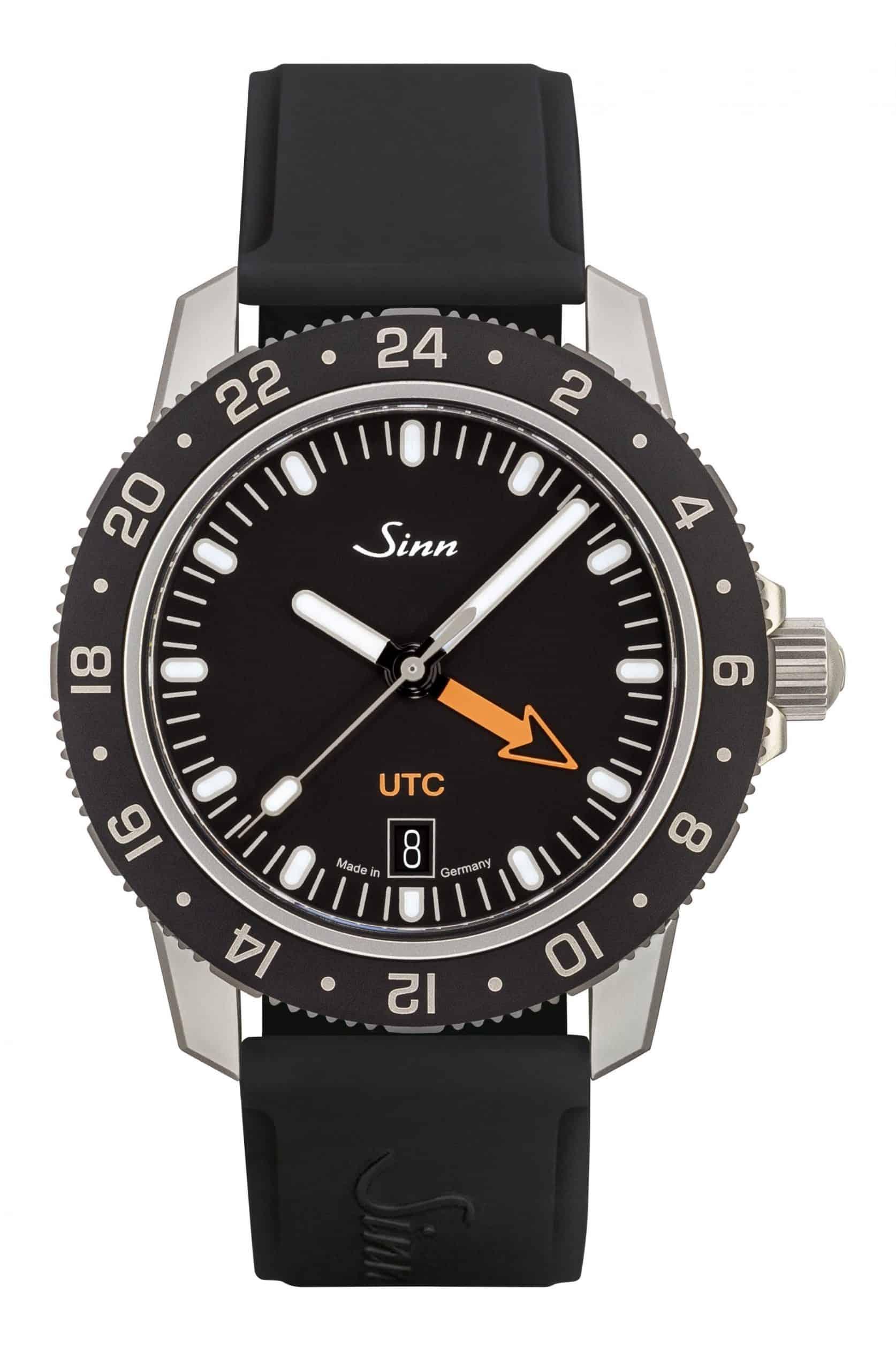 Die Version Sinn 105 St Sa UTC mit Silikonband gibt es für 1.590 Euro